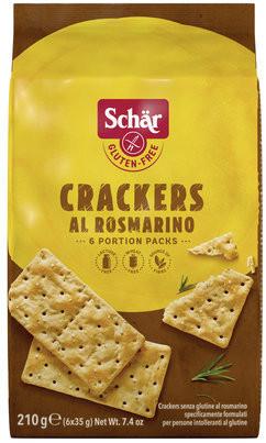 Crackers al rosmarino (210g) Schär