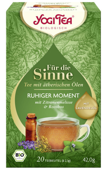 *Bio Yogi Tea® Für die Sinne Ruhiger Moment Bio (20x2,1g) Yogi Tea® , Yogi Tea GmbH