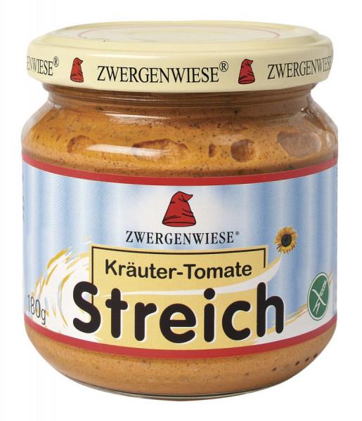 *Bio Kräuter-Tomate Streich (180g) Zwergenwiese
