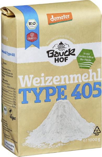 *Bio Weizenmehl Type 405 Demeter (1000g) Bauckhof