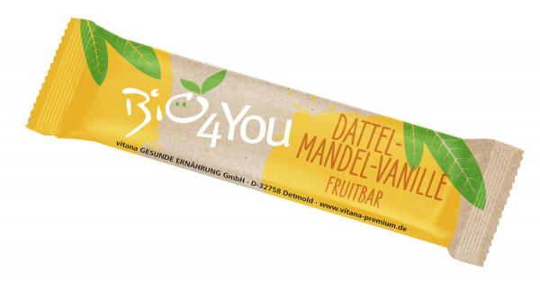 *Bio Bio-Dattel-Mandel-Vanille Fruchtriegel (30g) Vitana
