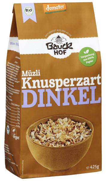 *Bio Dinkel Müzli Knusperzart Demeter (425g) Bauckhof
