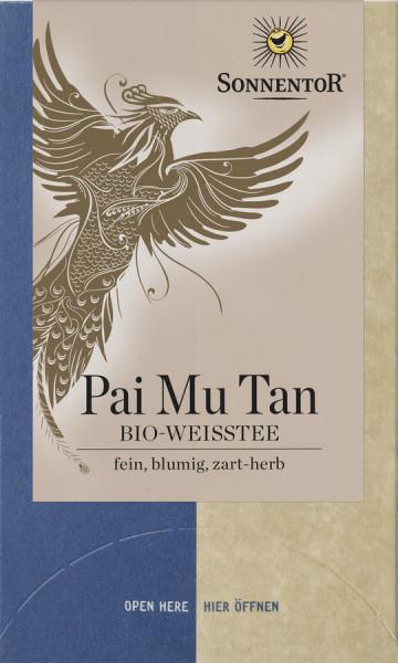 *Bio Weißer Pai Mu Tan Tee, Doppelkammerbeutel (18g) Sonnentor