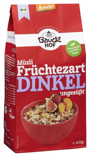 *Bio Dinkel Müzli Früchtezart Demeter (425g) Bauckhof