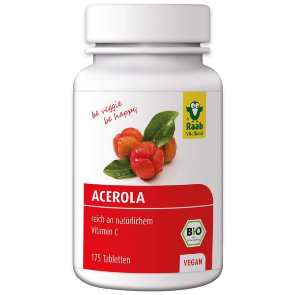 *Bio Bio Acerola Tabletten, 175 Stück (87,5g) Raab Vitalfood