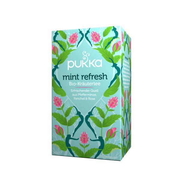 *Bio Mint Refresh (20x2g) Pukka