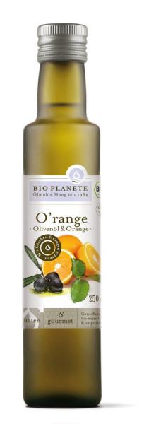 *Bio O'range Olivenöl & Orange (0,25l) BIO PLANÈTE