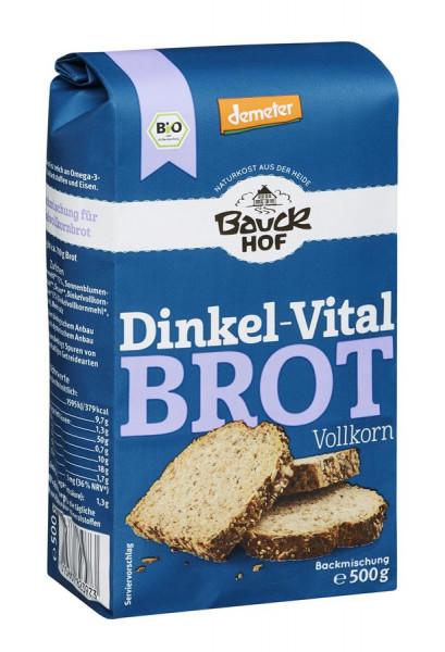 *Bio Dinkel Vitalbrot Vollkorn Demeter (500g) Bauckhof