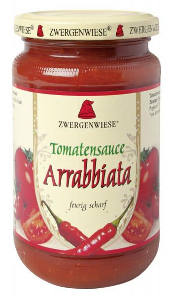 *Bio Tomatensauce Arrabbiata (340ml) Zwergenwiese