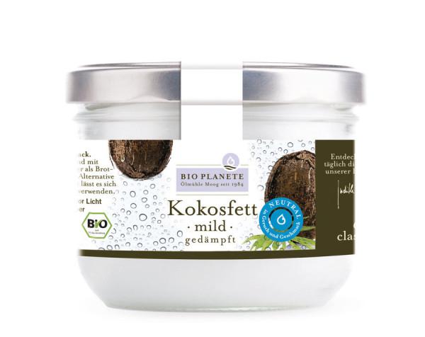 *Bio Kokosfett mild gedämpft (0,4l) BIO PLANÈTE