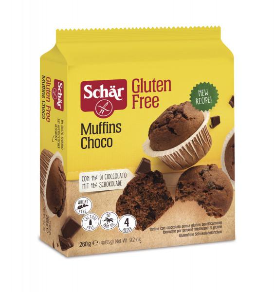 Muffins Choco (260g) Schär