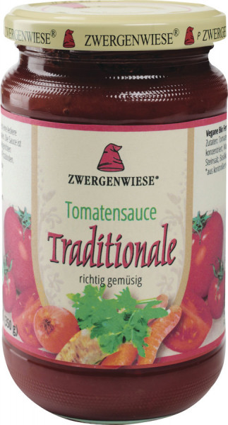 *Bio Tomatensauce Traditionale (340ml) Zwergenwiese