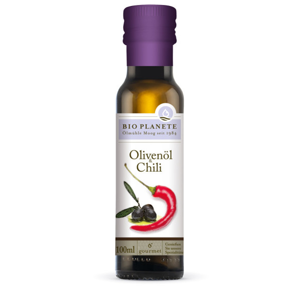 *Bio Olivenöl & Chili (100ml) BIO PLANÈTE