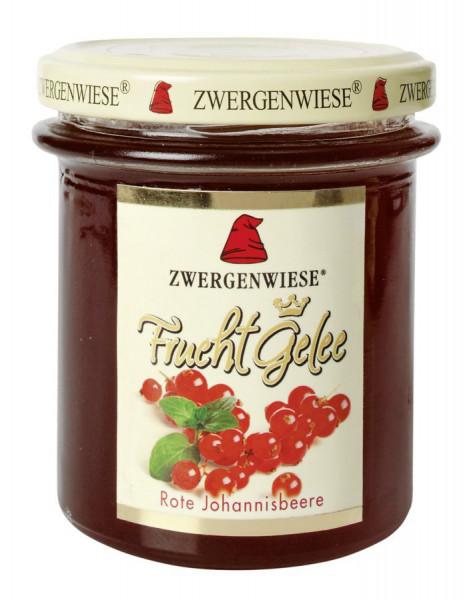 *Bio FruchtGelee Rote Johannisbeere (195g) Zwergenwiese