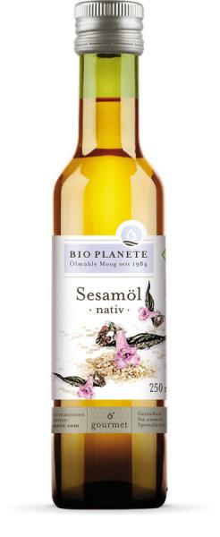 *Bio Sesamöl nativ (0,25l) BIO PLANÈTE