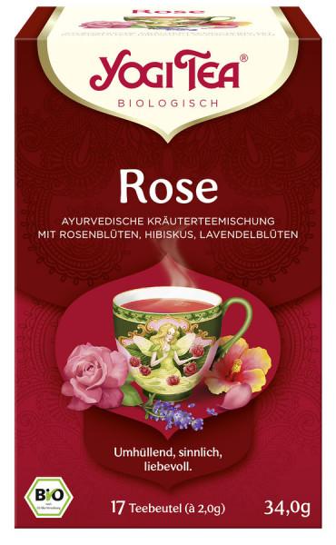 *Bio Yogi Tea® Rose Bio (17x2,0g) Yogi Tea®, Yogi Tea GmbH