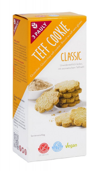 Teff Cookie Classic (125g) 3PAULY