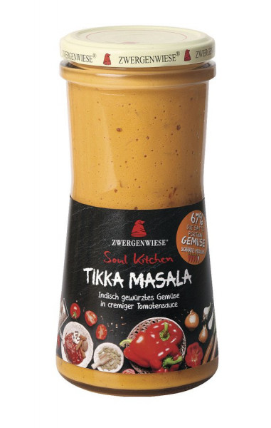 *Bio Soul Kitchen Tikka Masala (420ml) Zwergenwiese