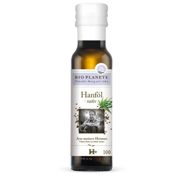 *Bio Hanföl nativ aus deutscher Herkunft (100ml) BIO PLANÈTE