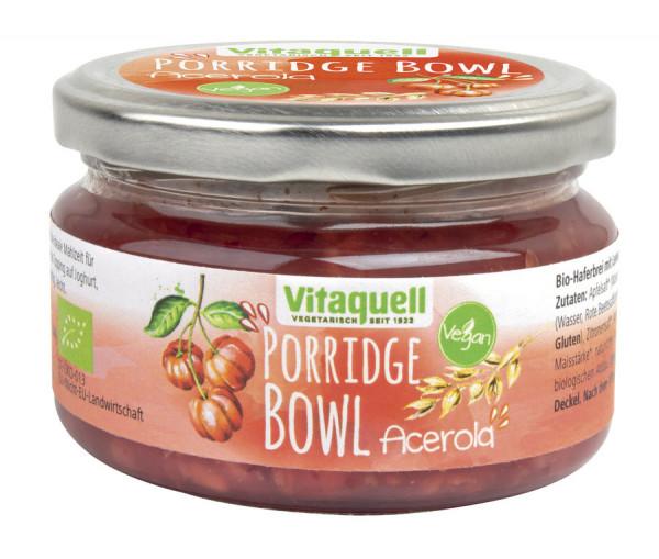 *Bio Porridge-Bowl Acerola Bio vegan (180g) Vitaquell