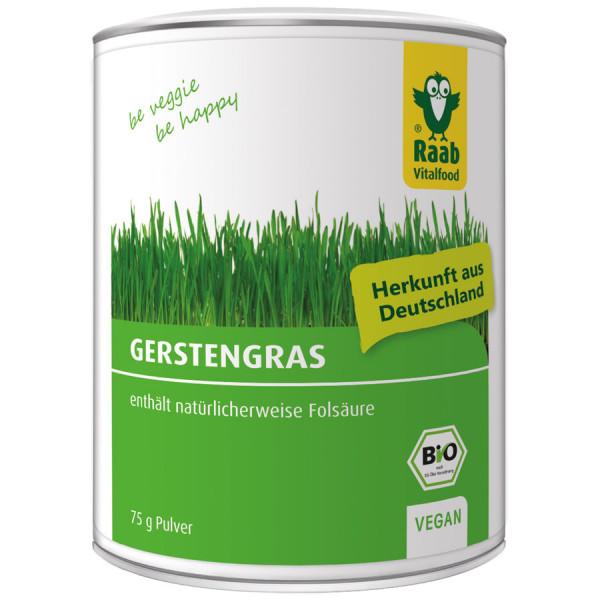 *Bio BIO Gerstengras Pulver (75g) Raab Vitalfood