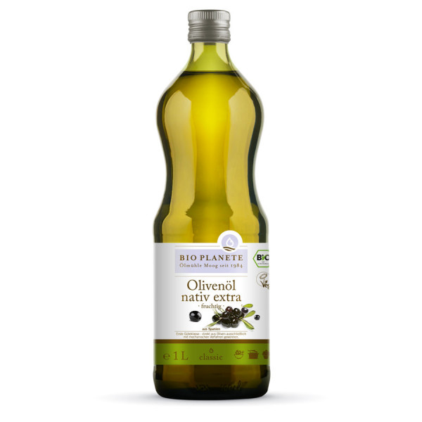 *Bio Olivenöl fruchtig nativ extra (1l) BIO PLANÈTE