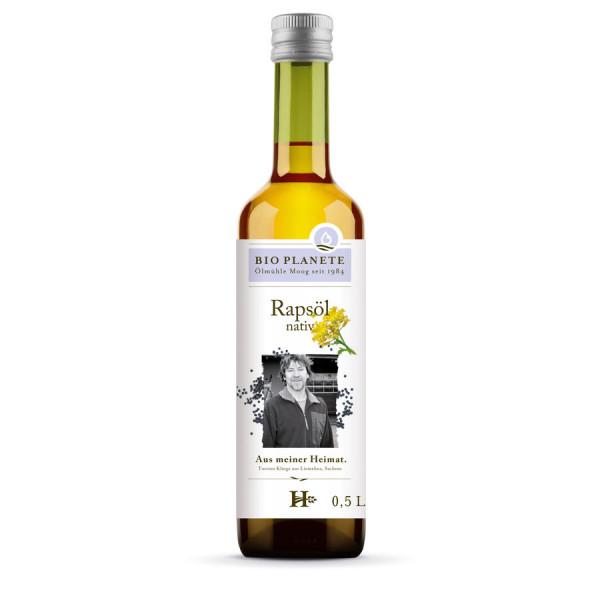 *Bio Rapsöl nativ aus deutscher Herkunft (0,5l) BIO PLANÈTE