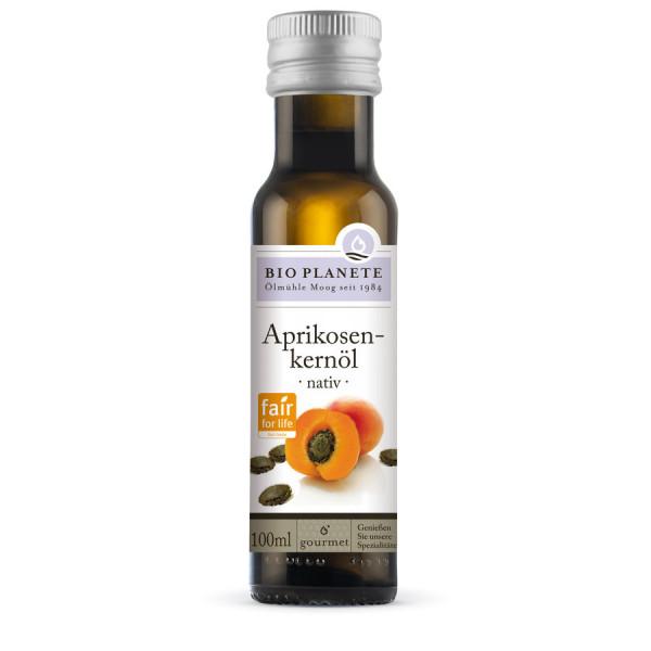 *Bio Aprikosenkernöl nativ Fair for Life (0,1l) BIO PLANÈTE