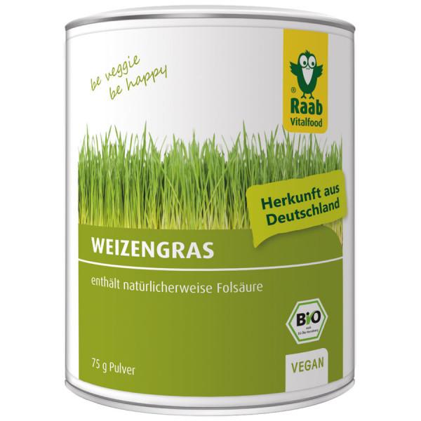 *Bio BIO Weizengras Pulver (75g) Raab Vitalfood