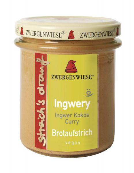 *Bio streich´s drauf Ingwery (160 g) Zwergenwiese