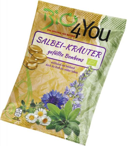 *Bio Bio-Bonbon-Salbei-Kräuter, gefüllt (75g) Bio4You
