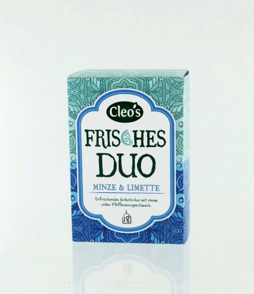 *Bio Frisches Duo (18 x 1,5g) Cleo's