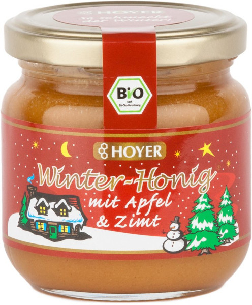 *Bio Winter-Honig Apfel u. Zimt (250g) Hoyer