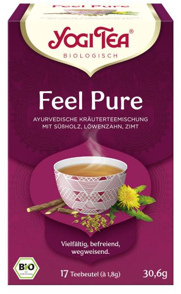*Bio Yogi Tea® Feel Pure Bio (17x1,8g) Yogi Tea®, Yogi Tea GmbH