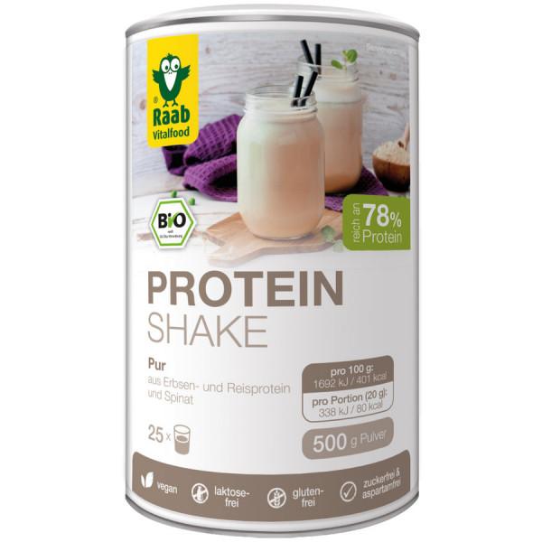 *Bio BIO Protein Shake Pur (500g) Raab Vitalfood