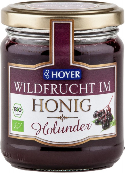 *Bio Holunder Wildfrucht im Honig (250g) Hoyer