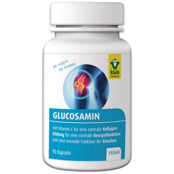 Glucosamin 90 Kapseln (72g) Raab Vitalfood