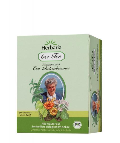 *Bio 6er Tee Eva Aschenbrenner bio 40FB (40St) HERBARIA