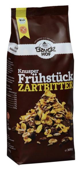 *Bio Knusper Frühstück Zartbitter glutenfrei Bio (300g) Bauckhof