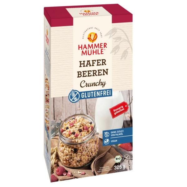 *Bio Bio Hafer Beeren Crunchy gf (325g) Hammermühle