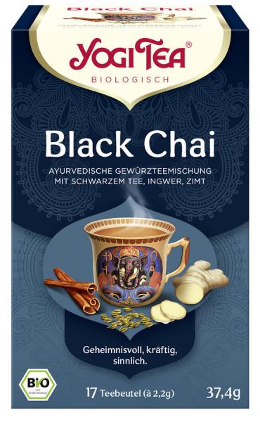 *Bio Yogi Tea® Black Chai Bio (17x2,2g) Yogi Tea ®, Yogi Tea GmbH