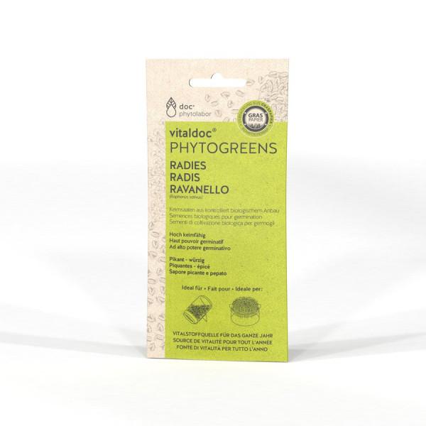 *Bio Radies - 60g - vitaldoc® PHYTOGREENS
