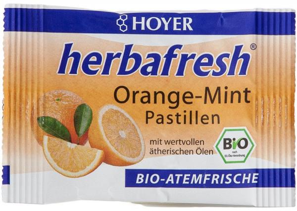 *Bio herbafresh Orange-Mint Pastillen (17g) Hoyer
