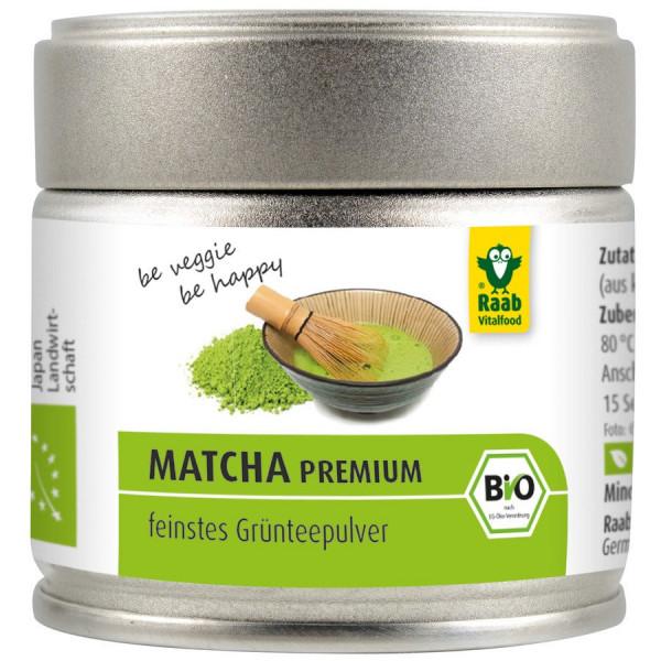 *Bio Bio Matcha Grünteepulver (30g) Raab Vitalfood