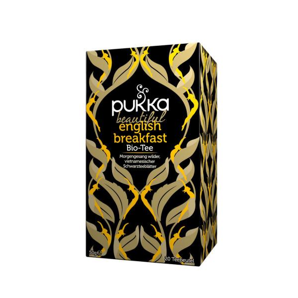 *Bio beautiful english breakfast (20 x 2,5g) Pukka
