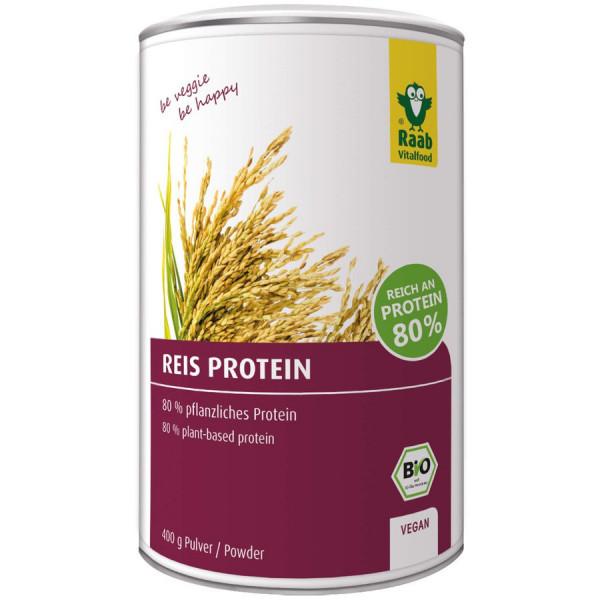 *Bio Bio Reis Protein Pulver (400g) Raab Vitalfood