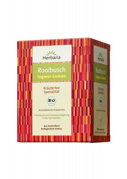 *Bio Rooibusch Ingwer-Lemon bio 15 Filterbeutel (30g) HERBARIA