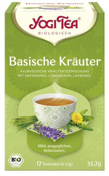 *Bio Yogi Tea® Basische Kräuter Bio (17x2,1g) Yogi Tea® , Yogi Tea GmbH