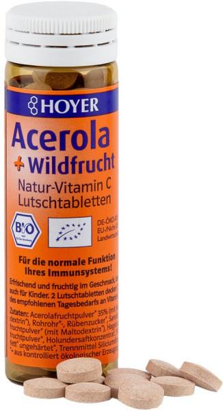 *Bio Acerola & Wildfrucht-Lutschtabletten (60 Tbl.) Hoyer