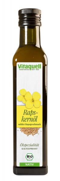 *Bio Rapskern-Öl Bio nativ, kaltgepresst (0,25l) Vitaquell
